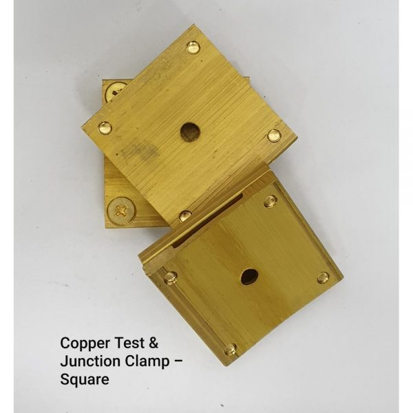 Copper Test & Junction Clamp – Square