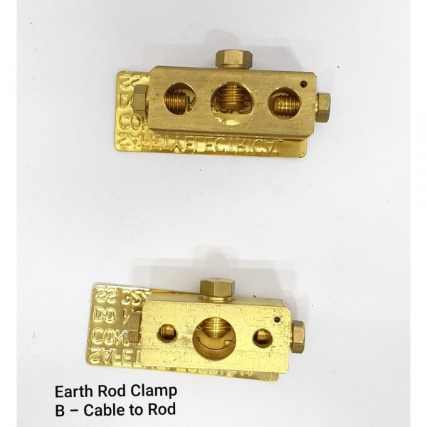 Earth Rod Coupling B – Cable to Rod