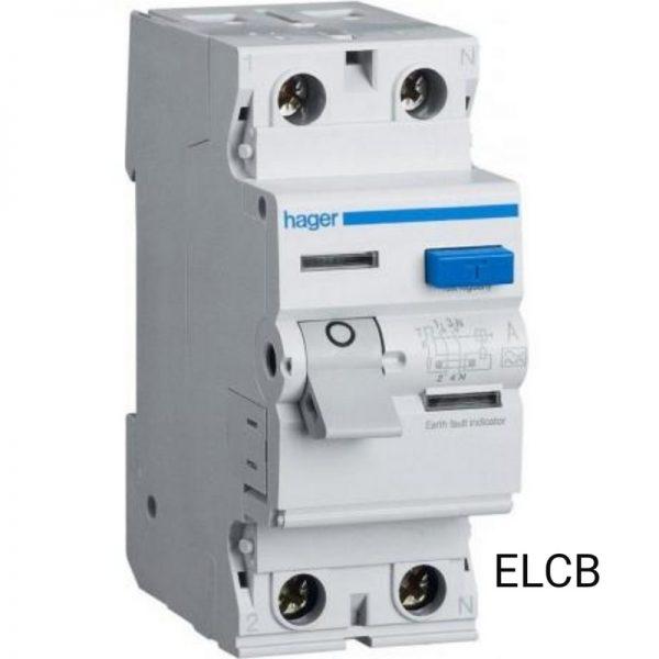 Hager CD240A ELCB