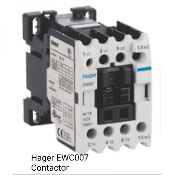 Hager EWC007 Contactor