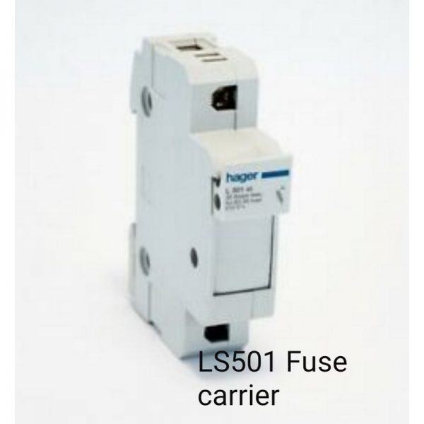 Hager LS501 Fuse Carrier
