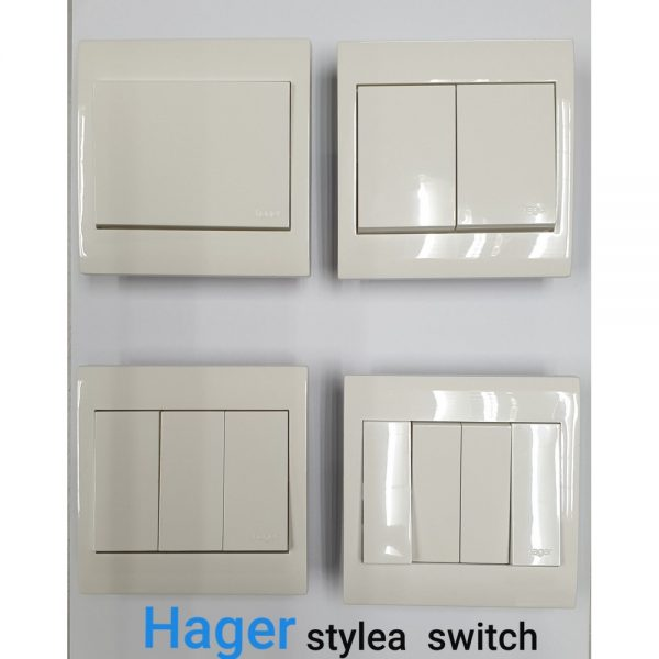 Hager Style a switch