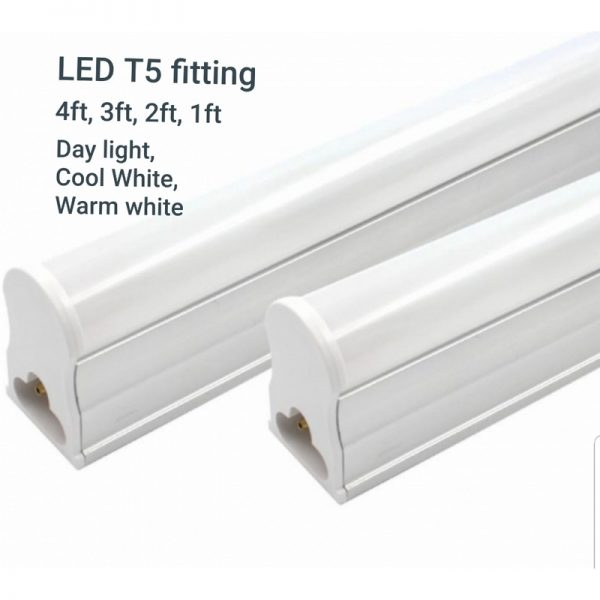 LED T5 Fitting – Day light, Cool White, Warm White