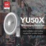 KDK Ind. Wall Fan YU50X